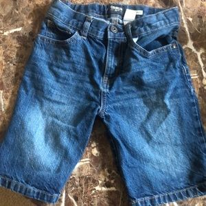 Boys blue jean shorts